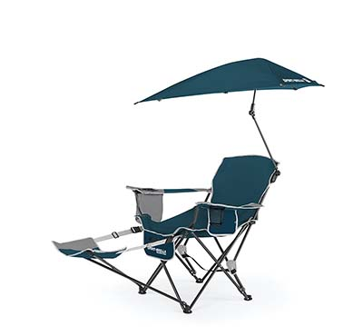 7. Sport-Brella Blue Recliner Chair