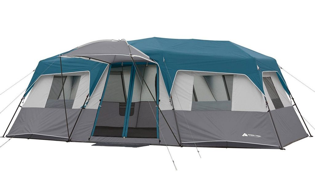 Ozark Trail 15-Person 3 Room Split Plan Instant Cabin Teal  sc 1 st  TheZ9 & Top 10 Best 20 Person Tents in 2018 - Buyeru0027s Guide