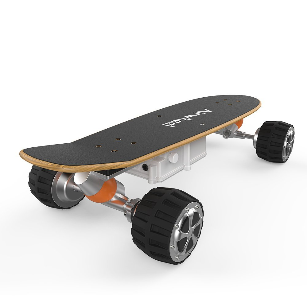Airwheel M3 Electric Longboard Skateboard Controlled By Handhold Wireless Remote, Off-Road Skateboards