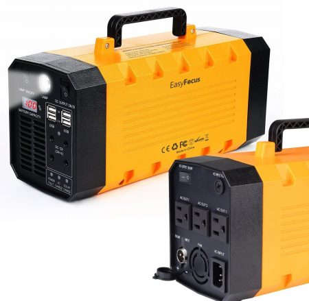7lb 500W 288WH Backup - Best Portable Solar Generators