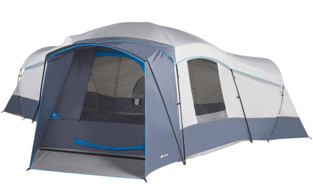 Ozark Trail Spacious Family Sized 16-Person Weather Resistant Ozark Trail 23.5u2032 x 18.5u2032 Cabin C&ing Tent  sc 1 st  TheZ9 & Top 10 Best 20 Person Tents in 2018 - Buyeru0027s Guide