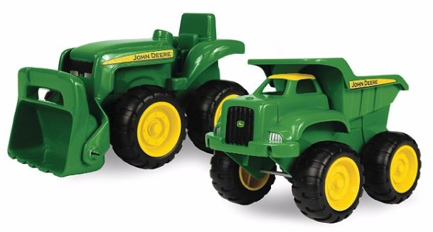 #8 John Deere Sandbox Vehicle 2pk, Truck and Tractor