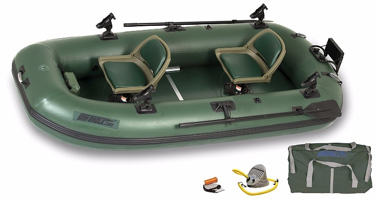 #8 Sea Eagle Stealth Stalker STS10 Frameless Fishing Boat