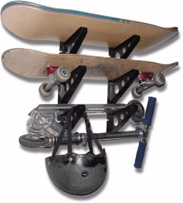 #9 Skateboard Rack - 3 Boards - StoreYourBoard