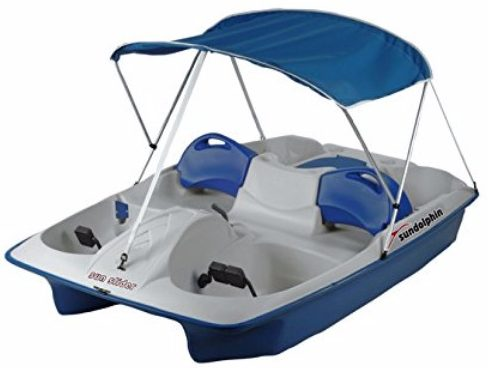 #9 Sun Dolphin 2-Pole Pedal Boat Canopy Replacement  sc 1 st  TheZ9 & Top 10 Best Fishing Boats in 2018 Reviews