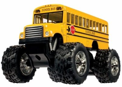 #9 Toysmith 5020 Monster Bus