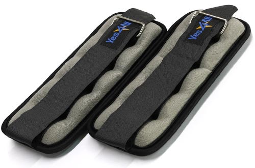 Yes4All Comfort Fit Ankle / Wrist Weight Set
