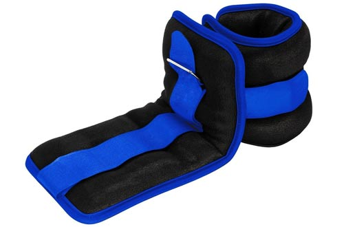 Reehut Durable Ankle/Wrist Weights with Adjustable Strap for Fitness