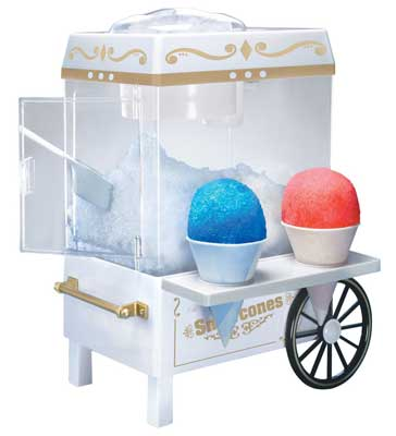 10. SCM502 Snow Cone Maker by Nostalgia