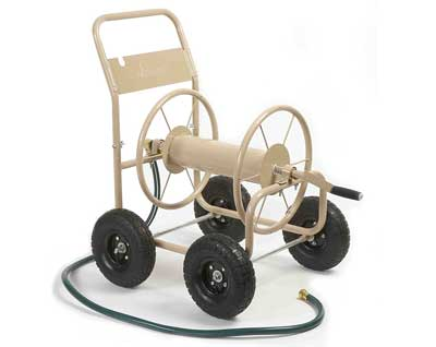 8. 4-Wheel Garden Hose Reel Cart, Model 870-M1-2 by Liberty Garden Products
