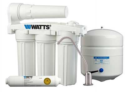 4. Watts Premier 5-Stage Manifold Reverse Osmosis Water Treatment System