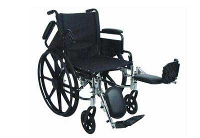 10. Stylish Narrow Ultralight 16 inches Seat Wheelchair - Anti-Tippers Included
