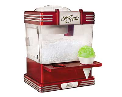6. Nostalgia Electrics RSM602 Snow Cone Maker