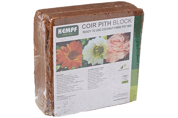 kempf compressed coco fiber growing potting mix
