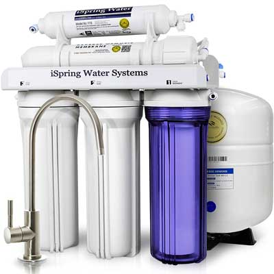 2.The iSpring 5-Stage Reverse Osmosis Drinking Water Filter System