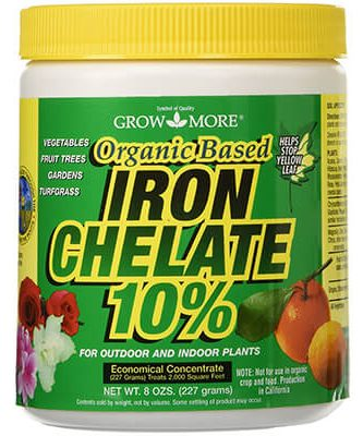 grow more 7450organic iron chelate concentrate