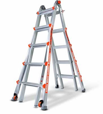 Best Step Ladders - Alta One Type 1 Model 22 Foot Ladder by Little Giant