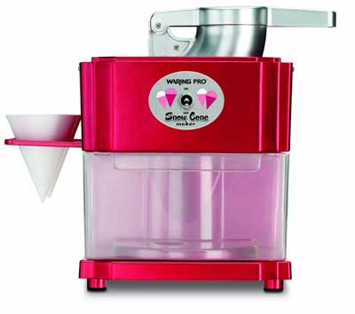 7. Waring Pro SCM100 Snow Cone Maker