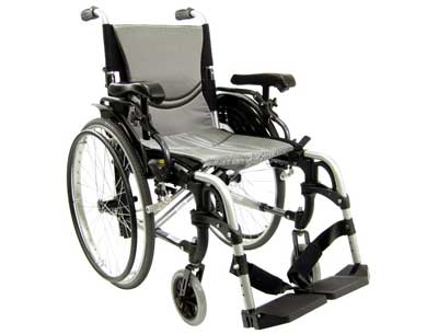 9. Karman S-ERGO 305 Lightweight Ergonomic Wheelchair - Quick Release Wheels