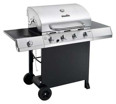 Best Gas BBQ Grills - Char-Broil Classic 4-Burner Gas Grill with Side Burner