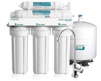 Best Reverse Osmosis Water Filters - ESSENCE ROES-50 Ultra Safe Reverse Osmosis Drinking Water Filter System