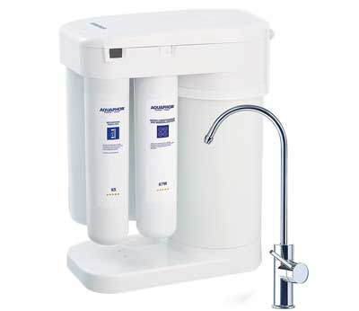 5. Aquaphor Water Filters RO-101 Reverse Osmosis Water Filtration System 7 Stage Non-Electric Compact