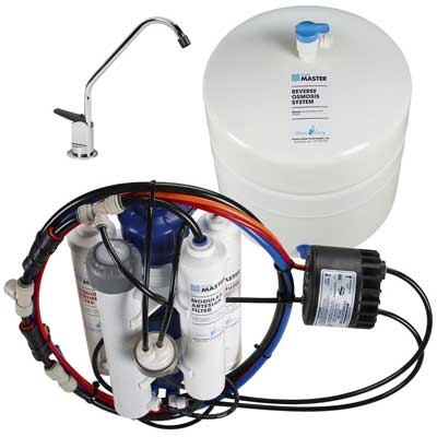 3. Home Master HydroPerfection Undersink Reverse Osmosis Water Filter System