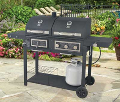 2. Backyard Grill Gas/Charcoal Grill