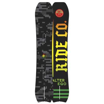 1. Ride Men's Alter Ego Snowboard