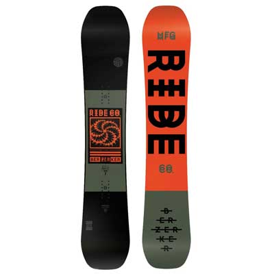 4. Ride Berzerker Men's Snowboard