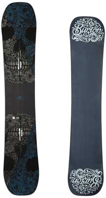 3. Burton Process Men's Off Axis Snowboard