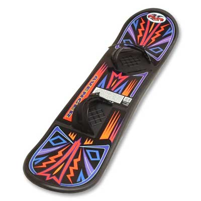 7. Avenger Beginners Snowboard by Flexible Flyer