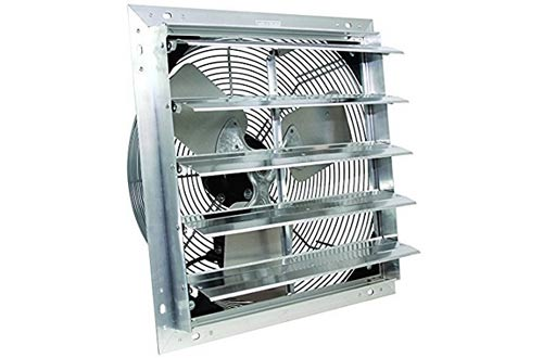 "VES 16"" Exhaust Shutter Fan, 3 Speed, Wall Mount"