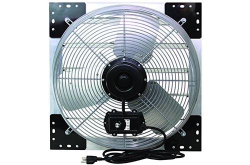 "VES 24"" Exhaust Shutter Fan, Wall Mount"
