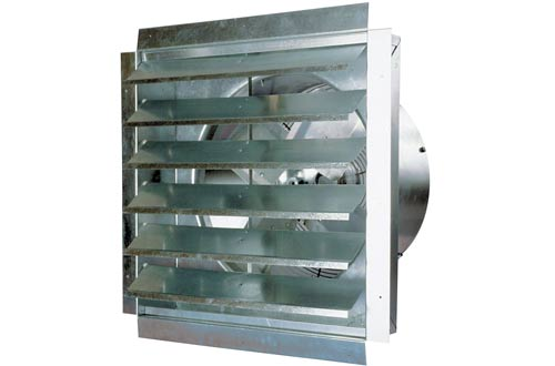 MaxxAir IF18 3000-CFM 18-Inch Blade Heavy-Duty Exhaust Fan
