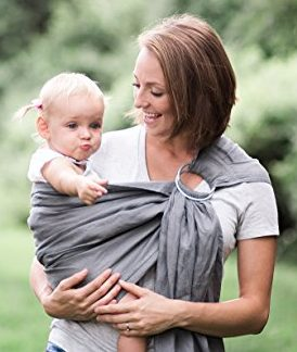 Bibetts Pure Linen Ring Sling