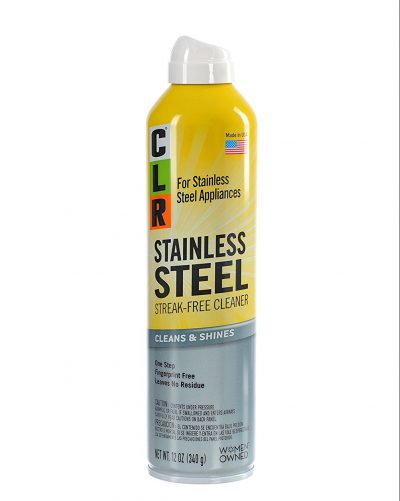 CLR CSS 12 Stainless Steel Cleaner 12 oz Aerosol Spray