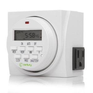 Century 7 Day Heavy Duty Digital Programmable Timer