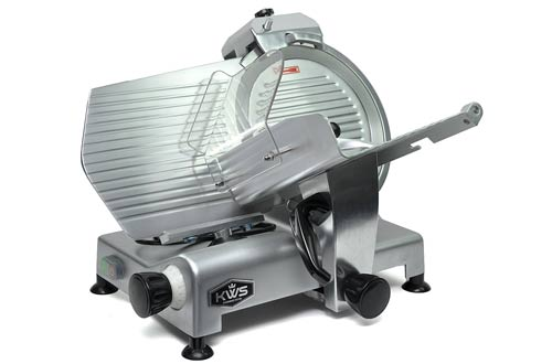 KWS Premium Commercial 420w Electric Meat Slicer