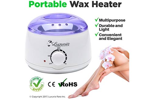 Electric Wax Warmer Melting Pot Hot Wax Heater for Facial Hair Removal