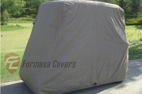 Deluxe 2 Passenger Golf Cart Cover roof