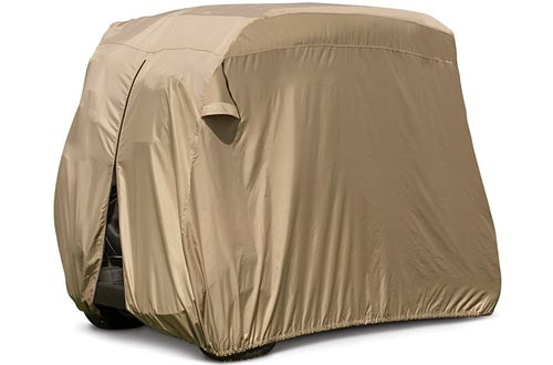 Fairway Golf Cart Easy-On Cover, Tan, Fits Club Car Precedent
