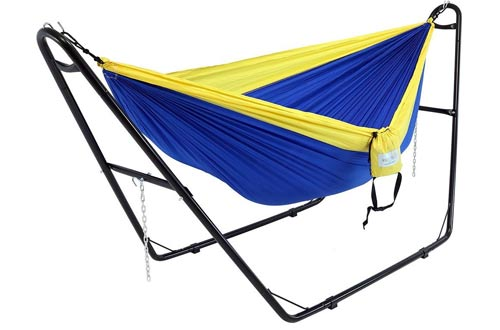 Sunnydaze Universal Multi-Use Heavy-Duty Steel Hammock Stand for 2 Person