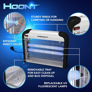 Hoont Powerful Electronic Indoor Bug Zapper