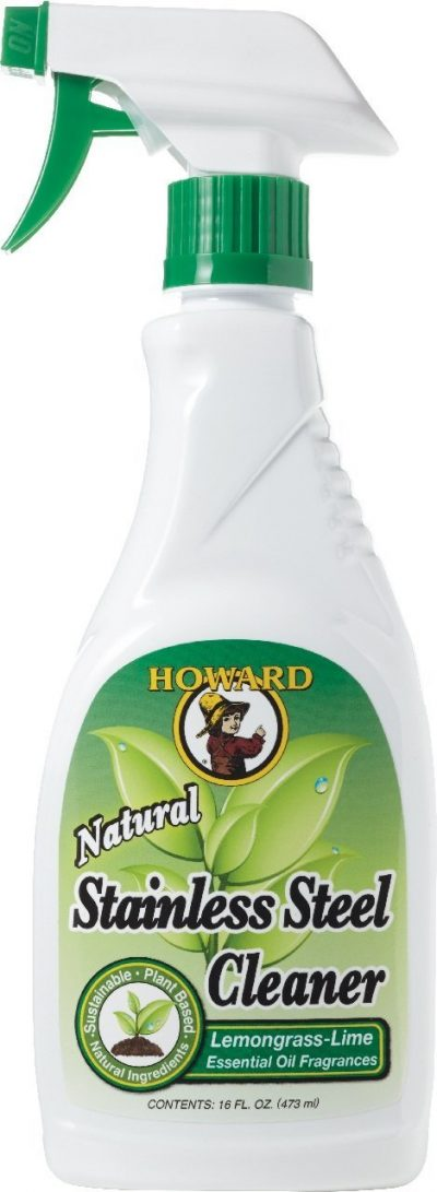 Howard Products SS5012 Natural Stainless Steel Cleaner Trigger Spray