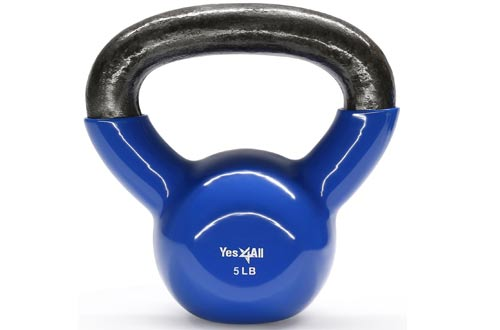 Single Vinyl Coated Kettlebell Great quality for Cross Training, MMA Training