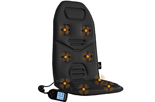Gideon Powerful Vibrating Back and Shoulder Massager Seat