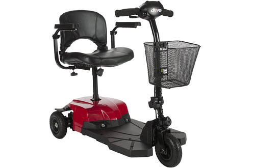 Drive Medical Bobcat X3 Compact Transportable Power Mobility Scooter