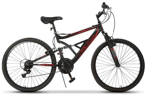 Mountain Bike 18 Speed Bicycle Shimano Hybrid Suspension
