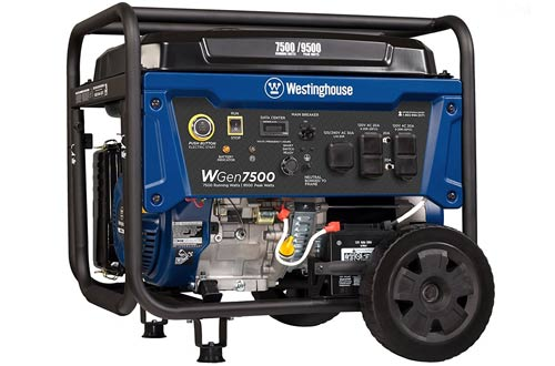 Portable Generator with Electric Start